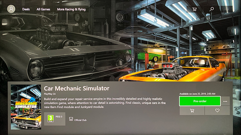 Playway Car Mechanic Simulator 2018 X1 Ps4 25 6 2019