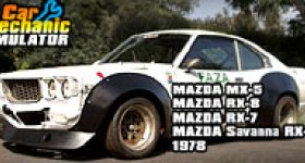 Mazda + Car Mechanic Simulator